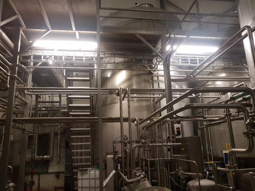 Grote schoonmaak binnenzijde fabriek – Bouwhuis Enthoven Egg Products