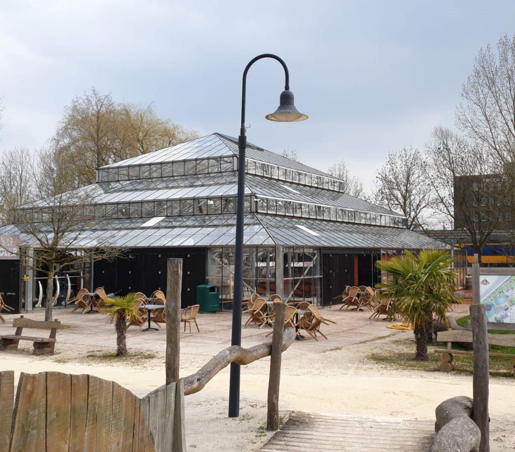Glasbewassing Dinoland - Zwolle